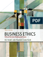 Business Ethics Ethical Decision Making Cases 12th Edition