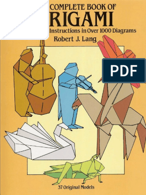 2019) Origami (PDF) Evolution From Paper - Basic To Complex For Beg… | 396x298