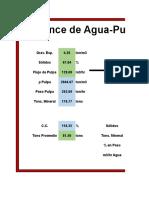 Unlocked_Balance de Agua-Pulpa en Hidrociclón