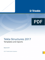 Templates and Reports 2017