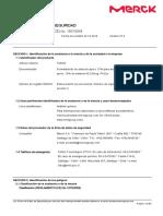 104003 SDS CL ES Formaldehido