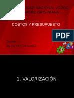 Costos y Presupuestos Val. y Formula Polinomica Unjbg