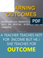 Learning Outcome (1)