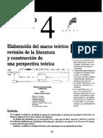 Hernandez, R., Fernandez, C. & Baptista, P. (2010). Metodología de La Investigación 5ª Ed. (Pp. 64-97). México DF. McGraw Hill.
