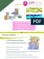 2017 JUMPForum Workshop Memoire&Nutrition NathalieBeneroso