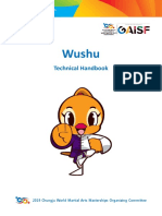2019 Chungju World Martial Arts Masterships Wushu Competition Technical Handbook En