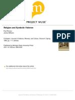 6.Ricoeur - Religion and Symbolic Violence