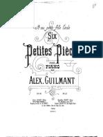 IMSLP262254-PMLP425361-AGuilmant 6 Petites Pièces, Op.48