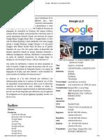 Google - Wikipedia, La Enciclopedia Libre