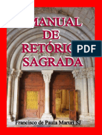 Manual de Retorica Sagrada FRANCISCO DE PAULA MARURI