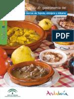 Guia Gastronomia Sierras Tejeda Almijara y Alhama-malaga y Granada