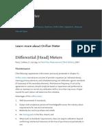 Differential Head Meters
