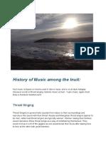 culture project - nunavik- new