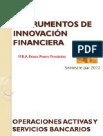 Instrumentos de Innovación Financiera1