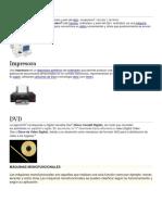 componentes de una computadora 2019