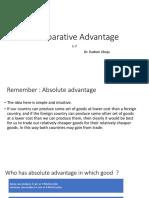 L 7 Comparative Advantage