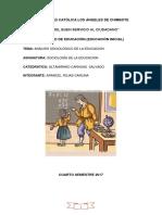 Analisis Sociologico de La Educacion (1)