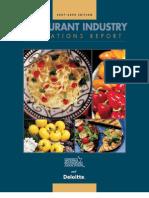 2007-2008 Restaurant Report