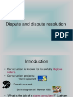 Dispute and Dispute Resolution