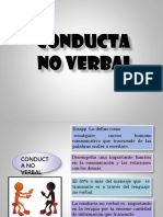 Conducta No Verbal