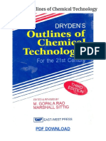Dryden's Outlines of Chemical Technology