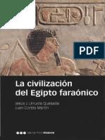Urruela Quesada Jesus J Y Cortes Martin Juan - La Civilizacion Del Egipto Faraonico.pdf