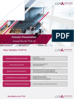 Investor Presentation q4 Fy19