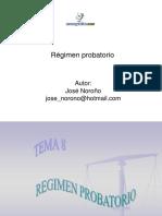 Regimen Probatorio Sistema Procesal Penal Venezolano