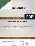 Micro grid presentation