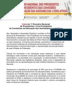 Educação Carta de Florianópolis
