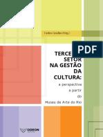 O Terceiro Setor Na Gestão Da Cultura 01-02-2017