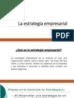 La Estrategia Empresarial RJM