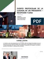 Evento Protocolar de La Llegada de Un Presidente
