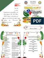 Nutrition month program