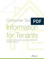 Information for Tenants