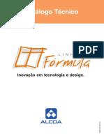 Catalogo linha Formula Alcoa