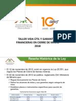 0 - Bienvenida - R. Arias - Comision Minera