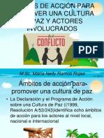 Ámbitos de Acción Para La Paz