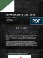 Termodinámica Aplicada Ciclos de Refrigeracion