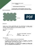 Construccion de Angulos Geometria Octavo