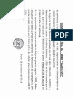 Ultimo Plazo de Presentacion de Ficha Tecnica y Aprobacion de Mantenimiento 2018 i
