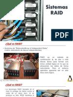 Sistemas RAID