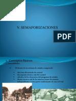 5. Semaforizaciones
