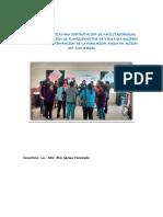 Propuesta Tecnica Proy. Fundacion Ayuda en Accion