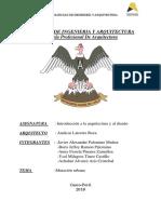 PDF en la arquitecura