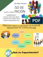 Plan de Capacitacion EXPOSICION 2019