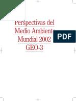 Perspectiva del Medio Ambiente Mundial 2002 GEO-3
