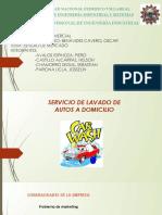 Gestion Comercial Estudio de Mercado (Carwash)
