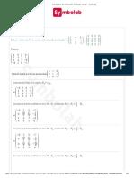 Calculadora de Eliminación de Gauss-Jordan - Symbolab