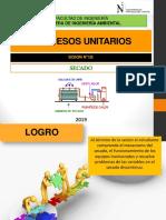 SECADO - proceso unitario